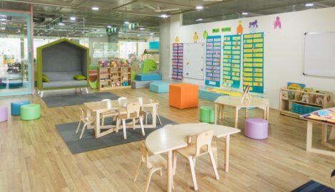 montessori nursery set up