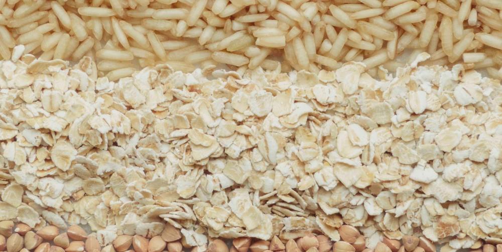 rice and porridge oats