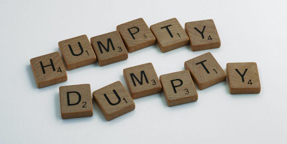 Humpty dumpty building blocks