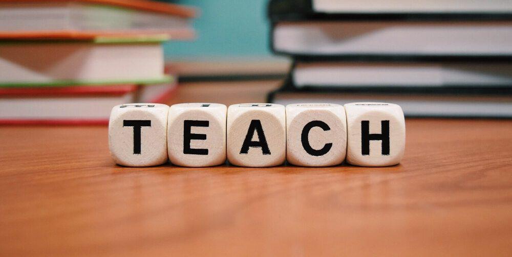 teach letter blocks